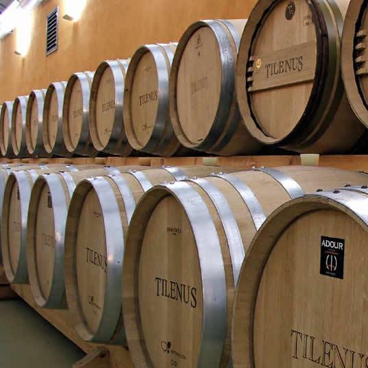 Tilenus Crianza del vino en tinaja o barrica