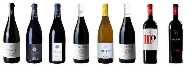Los vinos MGWines premiados por James Suckling