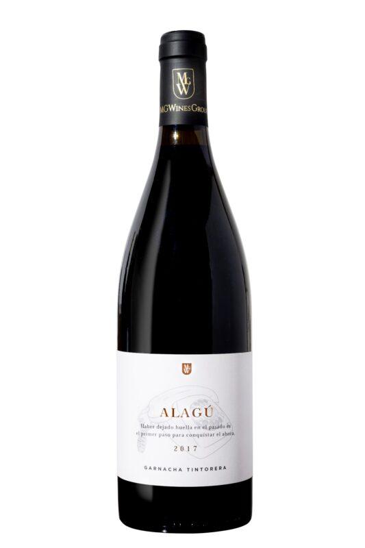 Botella de Alagú Garnacha Tintorera