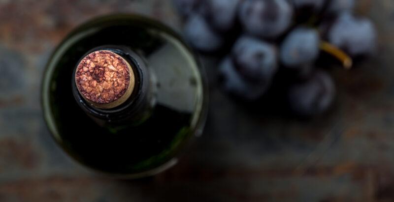 evolución vino botella