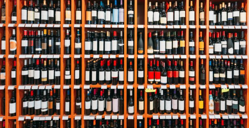 botella vino tamaño